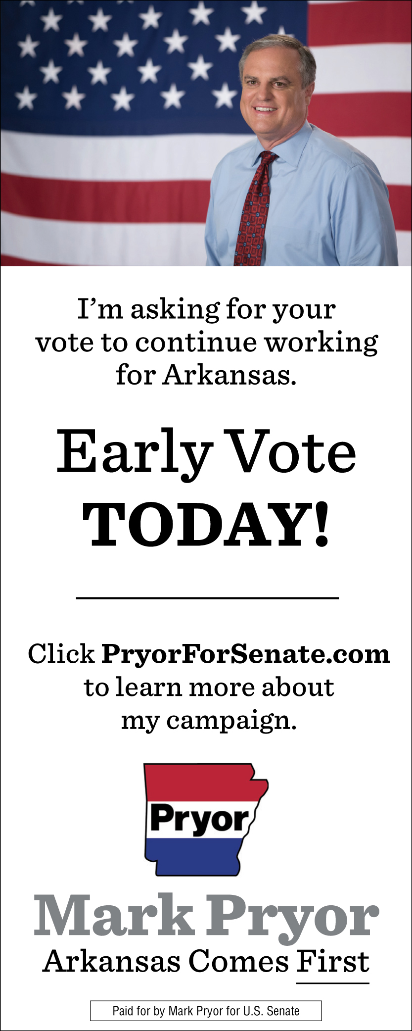 Mark Pryor For Senate