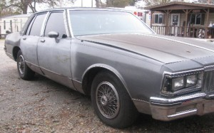 Pontiac Parisienne, brought the 4 PB men to Monticello, before their crime early morning spree.