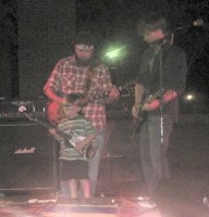 CashboX, with guest guitarist, Eli