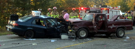 Fatal Collision Near Lacey Wednesday Morning Monticello