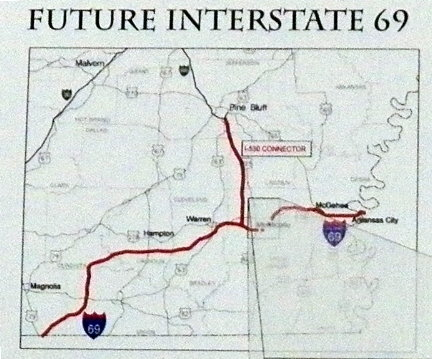 I69 Arkansas Map.I 69 Groundbreaking Ceremony Photos Monticello Live