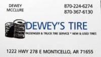 Dewey' Tires