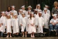 Mrs. Teri Caldwell's class, Kindergarten para-professional Christina McCray