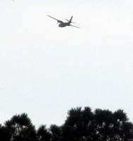 2 tanker planes & a control center aircraft, helped battle the fire.