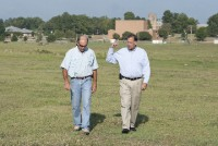 Boozman and Francis Walking