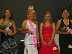 Drew County Fair Junior Miss Pageant Winners, 14-16 year-olds