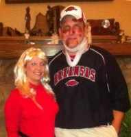 Andy & Angela Case as Bobby Petrino & Sraff Member