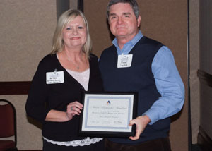 Michael Layfield, CEO and Barbara Barnes, RN Infection Control