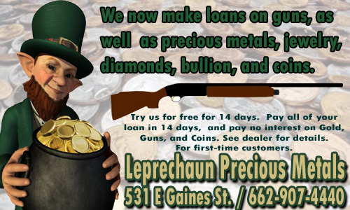 LeprechaunPreciousMetalsCenterAd