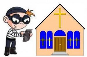 church theif