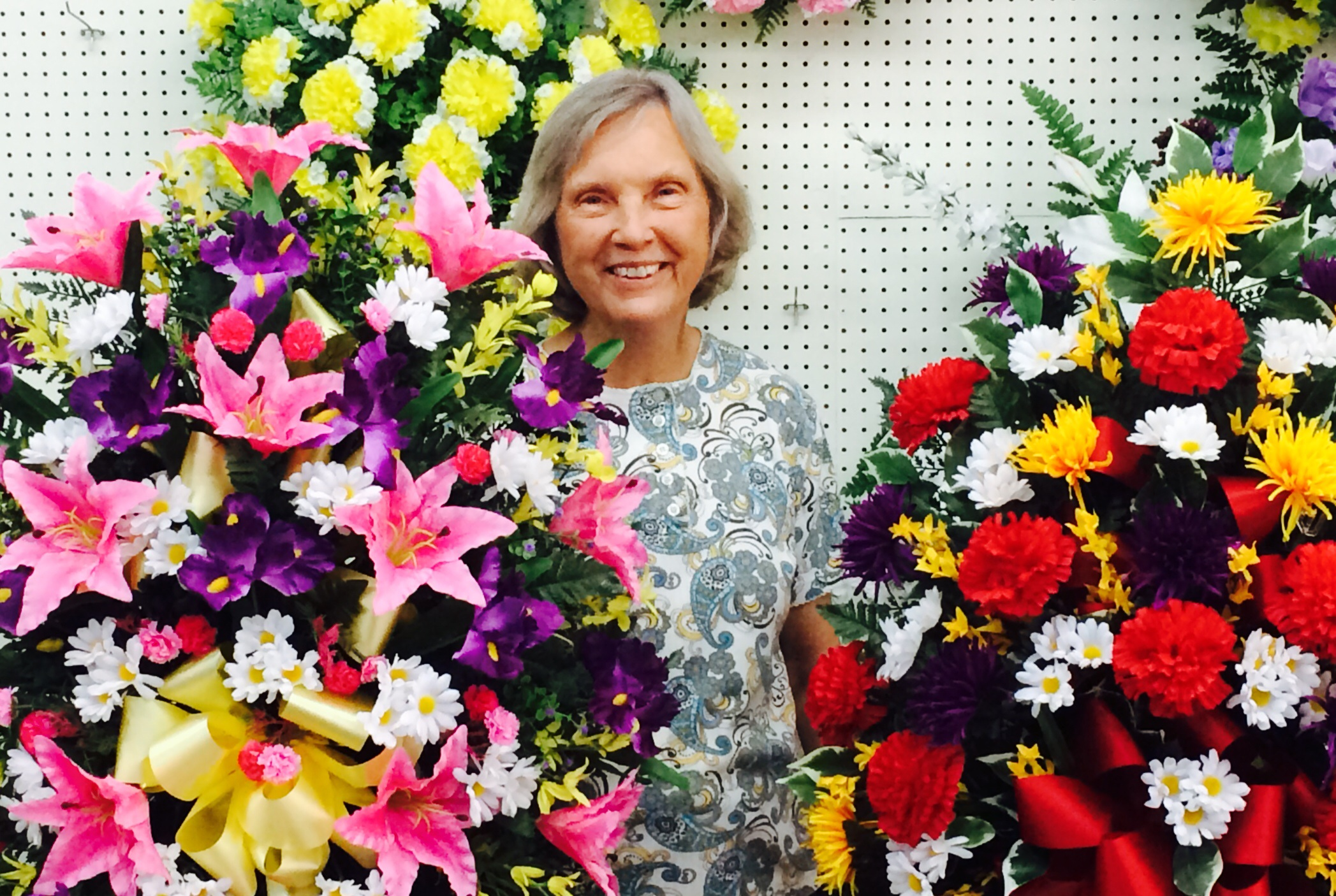 Tree O Welcomes Ms Norma Chapman As Silk Floral Designer