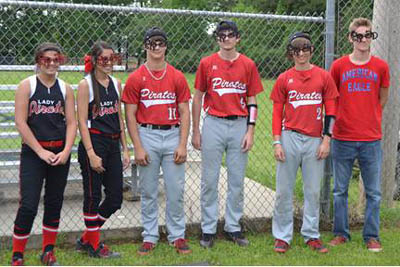 Pictured from left to right are Kellie Moore, Gretel Cruz, Thomas Wilmoth, Keith Simpson, Coltin Hampton, and Layne Brotherton.