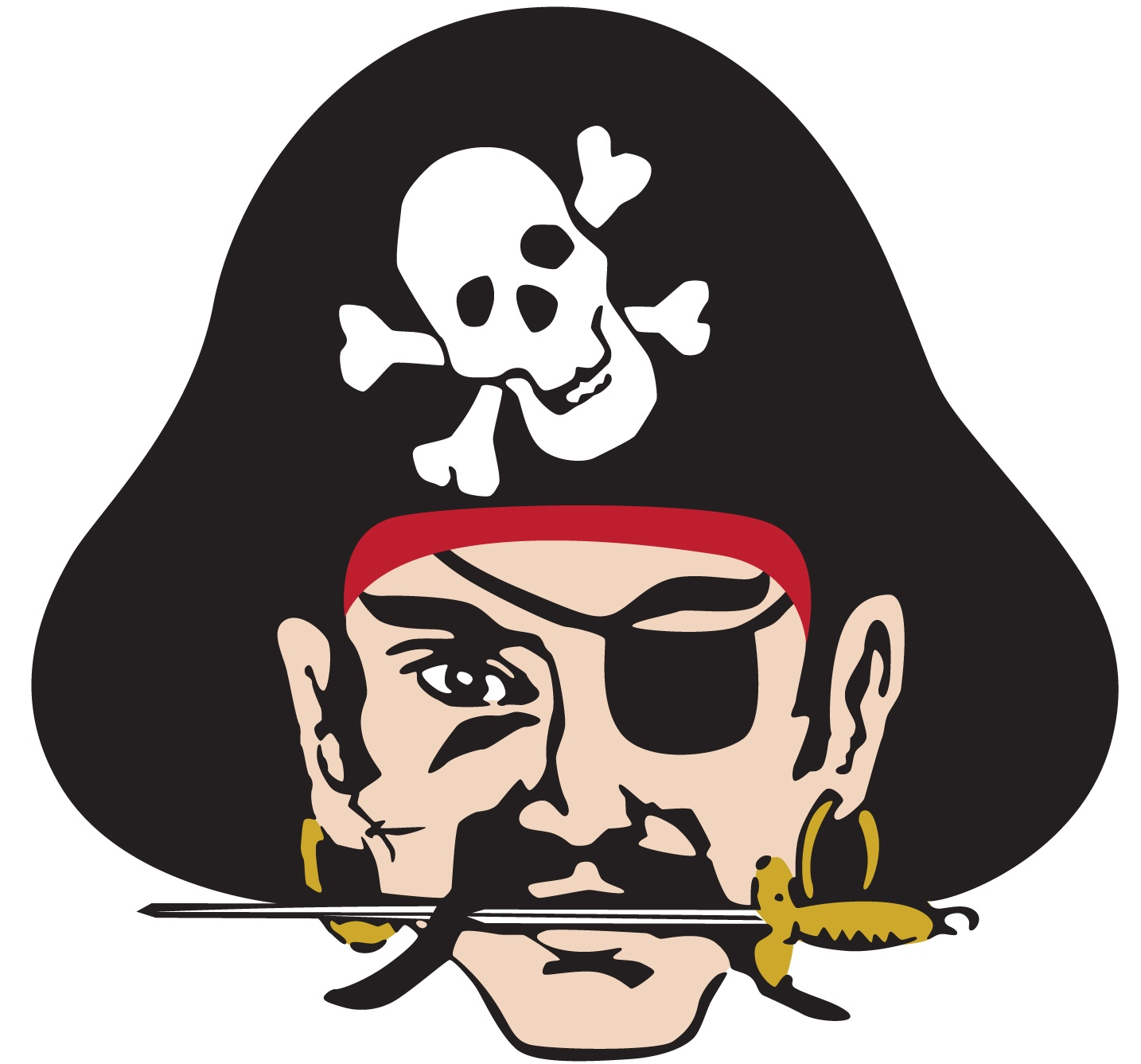 DC logo pirate