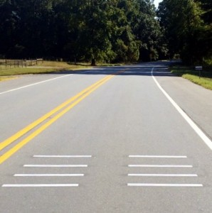 Dead Mans Curve Rumble Strips