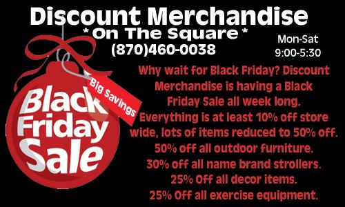 Discount Merchandise6BlackFridayWeekSale