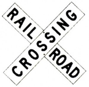 Railroad crossing rr