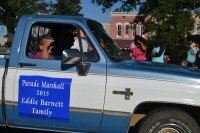 Parade Marshall The Eddie Barnett Family