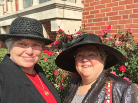 Udc convention sept 2015 Memorial ServiceTerri Wolfe Beth Thurman(2)
