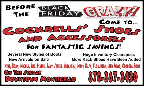 Cockrells Shoes Pre Black Friday Center copy