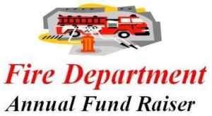 Fire department fundraiser dept