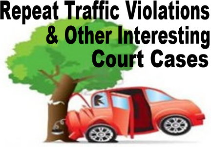repeat traffic violations  reasons not to drive