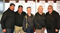 Members of the Southeast Arkansas Health Foundation Board at the awards ceremony following the April 1 Golf Tournament (L to R) Mark Tiner, Scott Barrilleaux, Becky Hammett, Barbara Barnes, Stephanie Norris