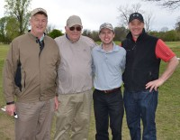 Union Bank's team placed first in the second flight of the Southeast Arkansas Health Foundation Golf Tournament