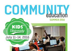 Summer 2016 Kids' University