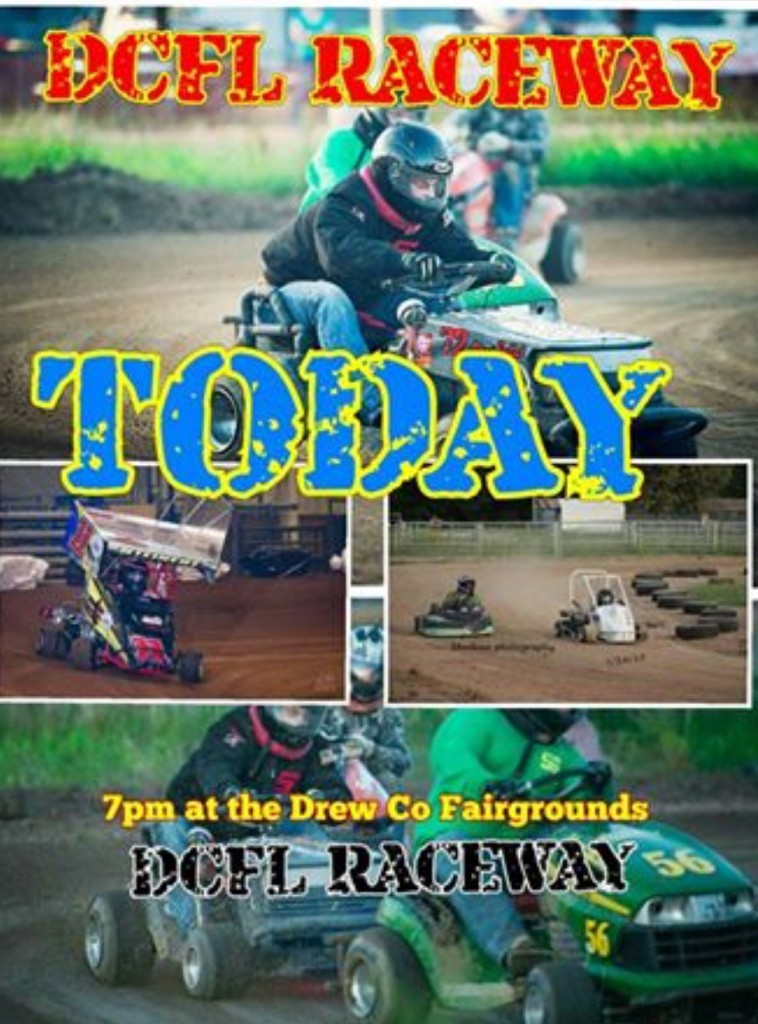 lawnmower races today