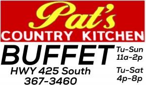 Pat's  buffet
