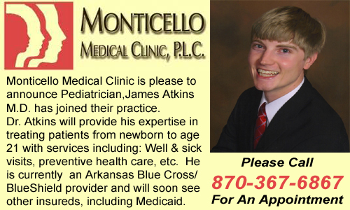 Monticello Medical Clinic Welcomes Dr James Atkins
