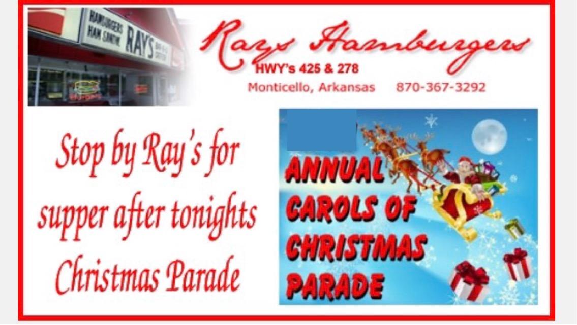 Rays Christmas parade