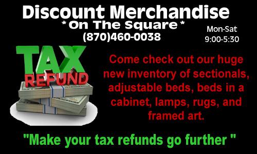 Discount Merchandise11TaxRefund2017 copy