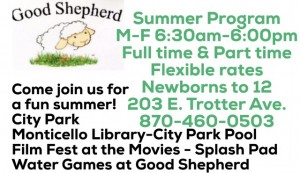 Good shepherd summer fun