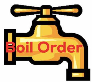 Water boil order