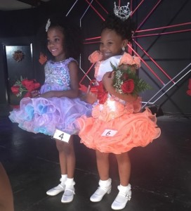 Drew County Little Miss 2017 winner Kailyn Green 1st runner up Ariyana Rochell