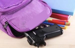 Gun school backpack