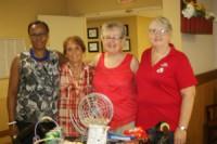 Brenda Brooks at the Woods with Deloris Bryan, Sharon Beard, and Brenda Chisom