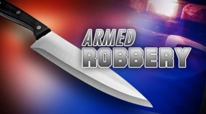 Armed robbery knife