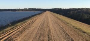 Lake Monticello levee Road