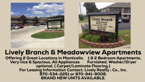 Lively branch Meadowview