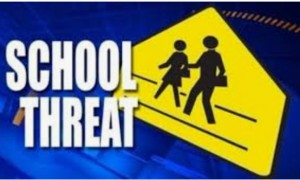 School threat gun