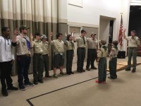 Crossover Ceremony with Troop 67