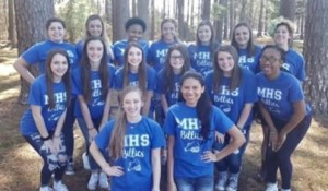 2018 MHS Billies cheerleaders