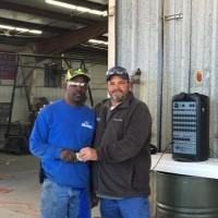 Loading Dock Employee of the Quarter - Gary Freeman