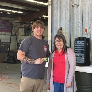 Supply Department Employee of the Quarter - Corey Beliew
