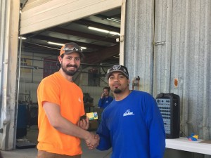 Rigging Department Employee of the Quarter - Mitchell Maxwell