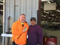 Metal Fab Employee of the Quarter - Jose Pahuamba