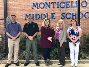Robert Hargis, Citizens Bank, John Paul Greer, AG&F, Brittany Sears, Mainline, Glenda Nichols, Chamber, Jennifer Touchstone, MMS Science Teacher