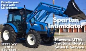 Spartan tractors